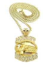"""Hip Hop Iced Out No Limit Records Tank Pendant Various 30"""" Chain Necklace XZP25"""