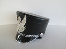 USED Black / Silver Stanbury Marching Band Hat