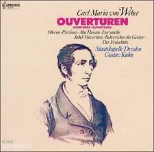 Weber: Ouvertüren, New Music