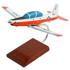 Navy Beechcraft T-6A Texan II Orange Desk Top Display 1/32 Model Plane Airplane