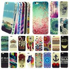 Fashion Designed Pattern Hard Case Cover For iPhone 6 4.7 5.5 Plus Ultra Thin