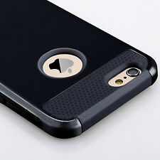 Hybrid Shockproof Hard&Soft Rugged Rubber Cover Case For iPhone 6 6s 4