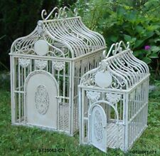 Chic Pet Palace for Teacup & Toy Size Iron Shabby Dog Cage~Crate~House~Kennel
