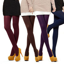 8 Colors Women's Spring Autumn Footed Thick Opaque Stockings Pantyhose Tights TS