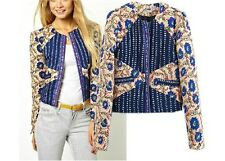 Chinese palace style floral women winter cotton-padded round collar short jacket