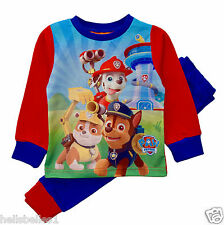 BOY'S  OFFICIAL PAW PATROL SNUGGLE FIT PYJAMAS/PJ 18-24M 2 3 4 5Y  (S)