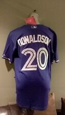 New Men's MLB Josh Donaldson Toronto Blue Jays baseball Jersey