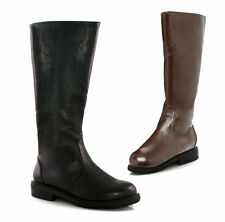 "Men's Riding Equestrian 1""Heel Knee High Boots 125-MATEY"
