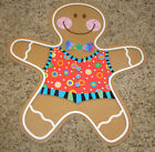Teacher Resource: 12 Gingerbread Men Bulletin Board Accents - 6""