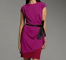 Narciso Rodriguez for DesigNation Colorblock Belted Dress