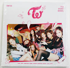 TWICE - THE STORY BEGINS (1st Mini Album) CD+36p Booklet+Garland+3 Cards+Poster