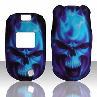 Blue Skull LG Revere Vn150 Verizon Case Cover Hard Cases Snap on Cover
