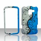 Blue Vines LG Enlighten VS700 Verizon Case Cover Hard Snap on