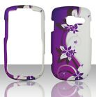 Purple Vines Pantech Link II 2 P5000 at&t Case Cover Hard Snap on Cases
