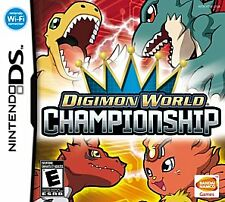 Digimon World Championship (Nintendo DS, 2008) GAME ONLY, TESTED & WORKING, A+