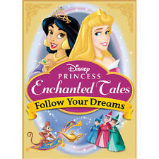 DISNEY PRINCESS ENCHANTED TALES FOLLOW YOUR DREAMS (DVD, 2007) WITH SLEEVE