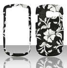 White Flowers Pantech Link II 2 P5000 at&t Case Cover Hard Snap on Cases