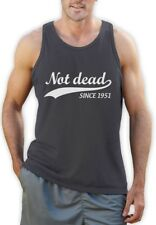 Not Dead Since 1951 - Sarcastic 65th Birthday Gift Singlet Funny
