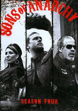 New Sealed Sons of Anarchy - The Complete Season Four DVD 4
