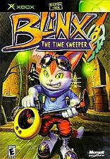Blinx: The Time Sweeper (Microsoft Xbox, 2002) - European Version Video Game