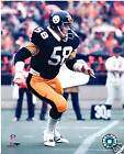 JACK LAMBERT PITTSBURGH STEELERS UNSIGNED 8X10 PHOTO
