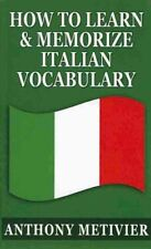 How to Learn & Memorize Italian Vocabulary ...  : Using a Memory Palace...