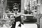 Audrey Hepburn - Breakfast at Tiffany's - B/W Poster