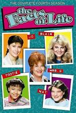 The Facts of Life: The Complete Fourth Season 4 (DVD, 2010) Ships in 12 hours!!!