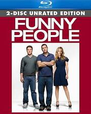 Funny People (Blu-ray Disc, 2009, 2-Disc Set, Rated/Unrated Versions) ***NEW***