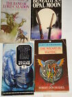 4 CLASSIC SCIFI/ FANTASY E VAN LUSTBADER M SCOTT ROHAN C MILLS AND R DON HUGHES