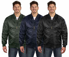 Maximos Men's Reversible Pilot Flight Bomber Jacket