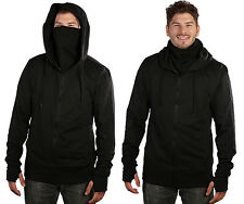 ARSNL Men's Fleece Full Zip Ninja Hoodie