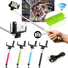 Extendable Handheld Bluetooth Selfie Stick Monopod For iPhone Samsung HTC P