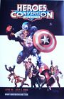 CAPTAIN AMERICA & Marvel ZOMBIES Heroes Convention  Poster by ARTHUR SUYDAM