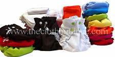 Applecheeks Cloth Diaper MIXED MICROTERRRY/BAMBOO Full Time Kit-Size 1 & Size 2