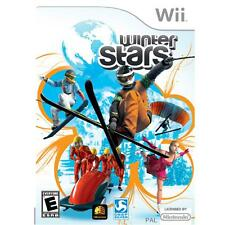 NEW - WINTER STARS - Nintendo Wii - Compatible with Balance Board SKI SKATE ++