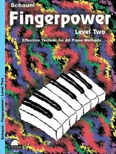 Fingerpower: Level 2 by John W Schaum (Paperback / softback, 1985)