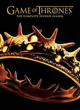Game of Thrones: The Complete Second Season DVD, 2013, 5-Disc Set