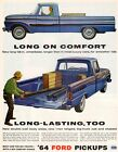 Vintage  Original  1964  FORD  STYLESIDE  PICKUP  TRUCK   AD -  10