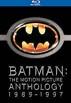 Batman: The Motion Picture Anthology 1989-1997 [Blu-ray] Sealed Brand New