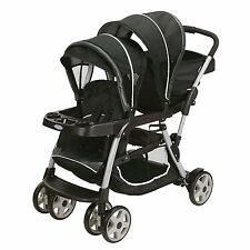 Graco Ready2Grow LX Stand & Ride Duo Double Baby Stroller - Gotham | 1934625