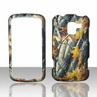 Camo Branches LG Enlighten VS700 Verizon Case Cover Hard Snap on