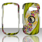 Green Leaves Pantech Link II 2 P5000 at&t Case Cover Hard Snap on Cases