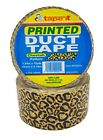 """24 RLS - 1.89"""" x 10 YDS -CHEETAH PRINTED DUCT TAPE - 10 MIL THICKNESS (D10SCH)"""