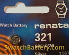 Renata 321 - SR616SW Watch Battery Batteries