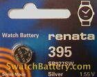 Renata 395  - SR927SW Watch Battery Batteries