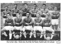 LEYTON ORIENT F.C.TEAM PRINT 1961-62 (PROMOTED)