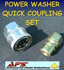 STEAM CLEANER H/P QUICK COUPLING SET PRESSURE WASHER