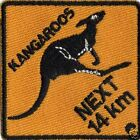 KANGAROOS NXT 14 Km IRON ON  PATCH BUY 2 GET 1 FREE