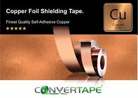 Guitar Shielding Self Adhesive Copper Foil Tape 30mm x 3M